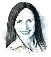 Illustration von Barbara Belser, Leiterin Human Resources bei CKW